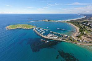 Automobilių nuoma Kofs Harboras, Australija