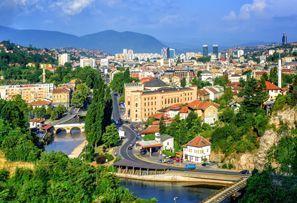 Automobilių nuoma Sarajevas, Bosnija
