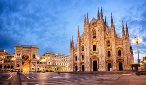 Automobilių nuoma Milanas, Italija