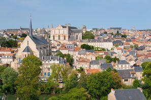 Automobilių nuoma Poitiers, Prancūzija